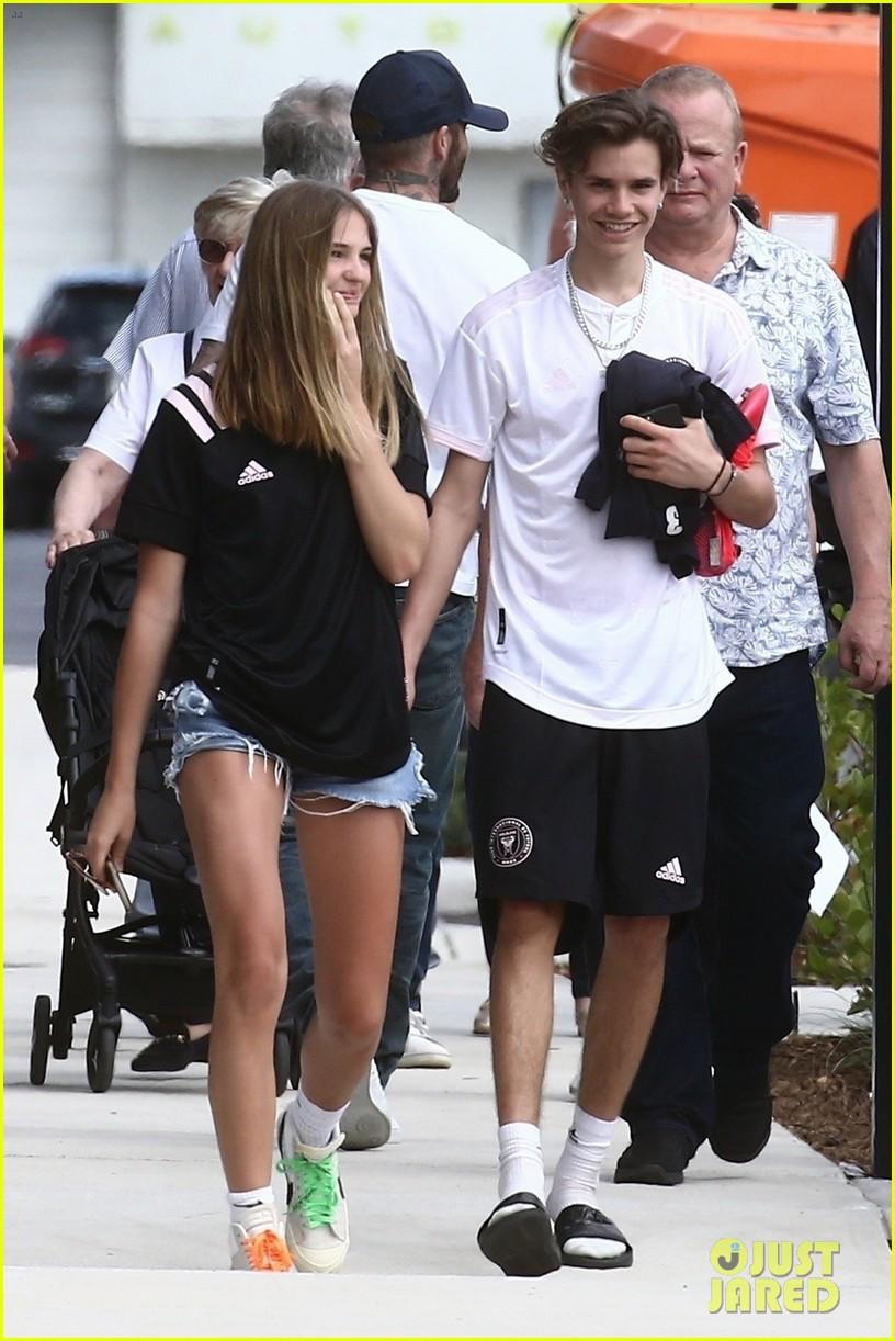 Romeo Beckham's Girlfr...