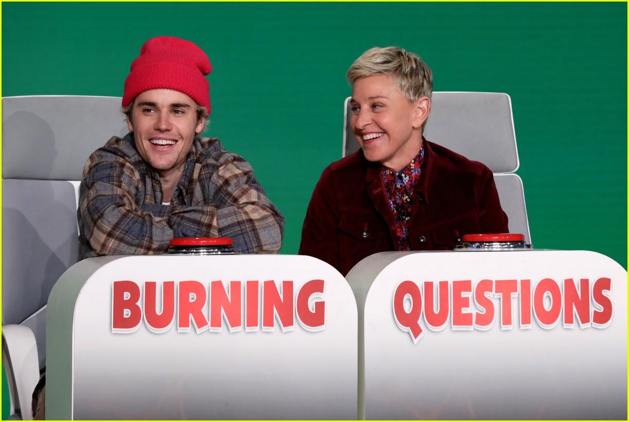 justin bieber on ellen burning questions 01