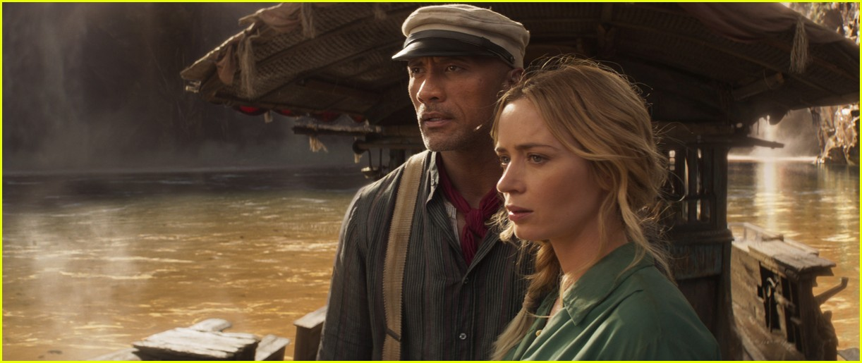 dwayne johnson emily blunt show off some of the jungle cruise comedy in new trailer 03