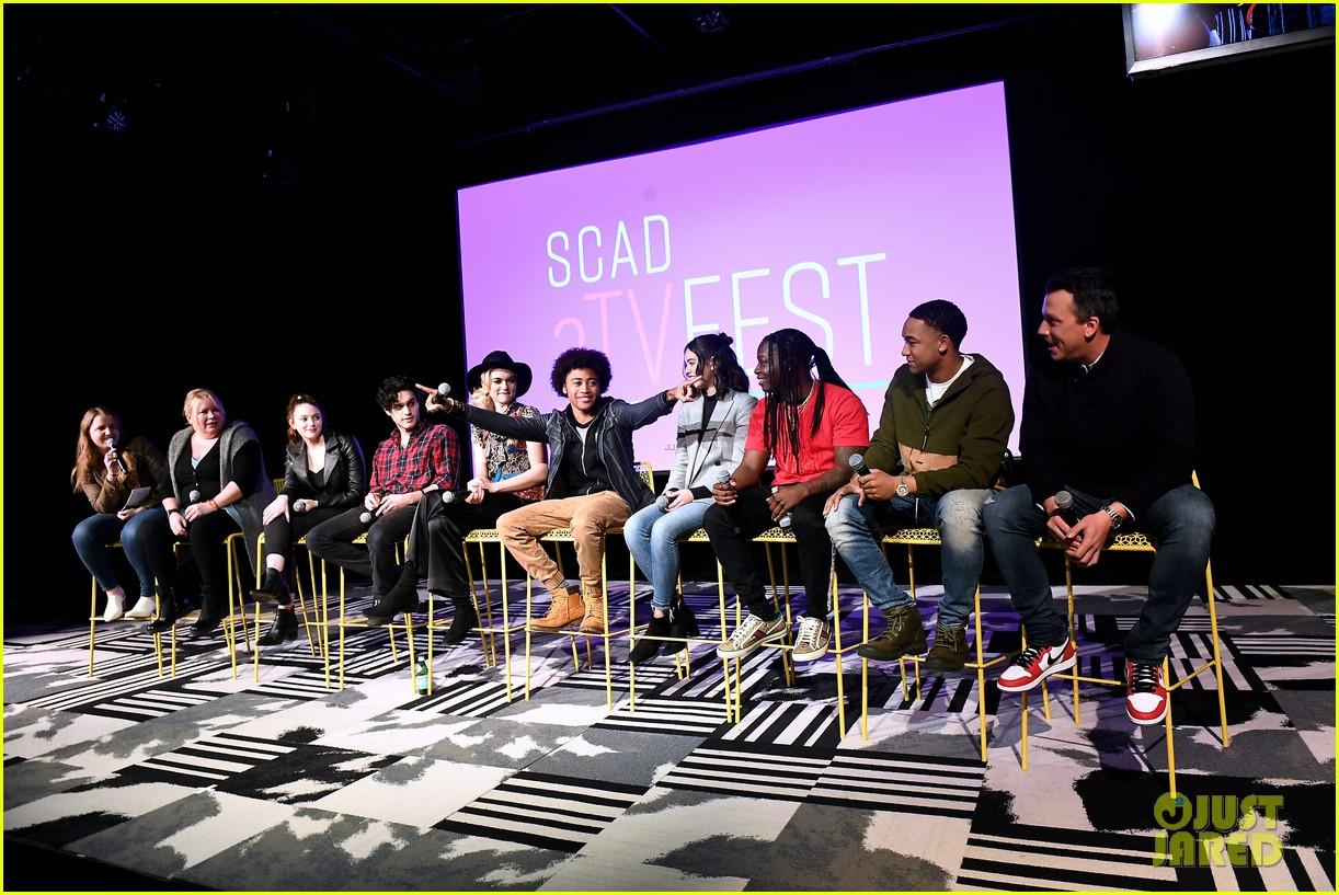 legacies cast producers talk upcoming film noir episodeat scad festival 02