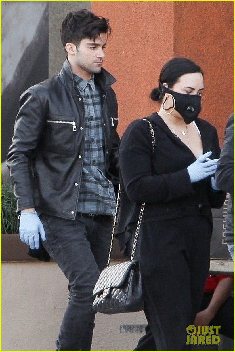 demi lovato max ehrich photos 02