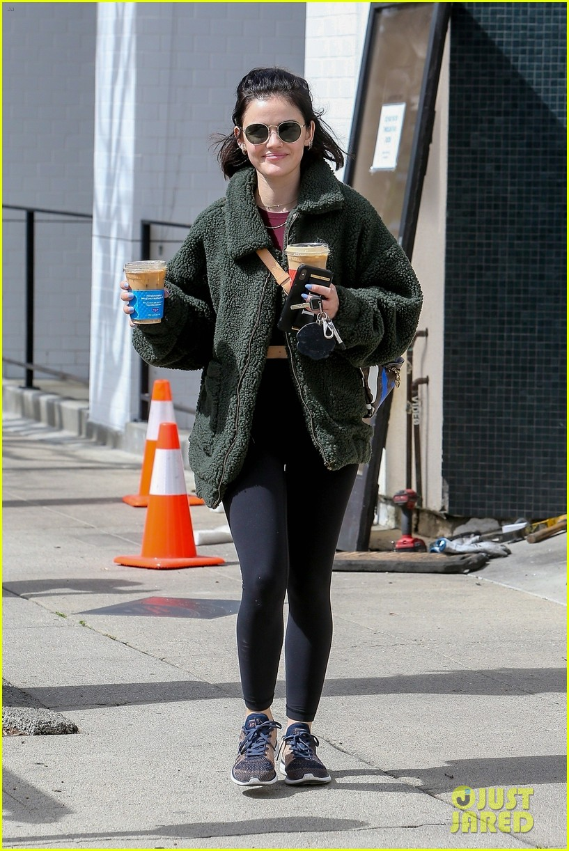 lucy hale gets fresh air during social distancing 02