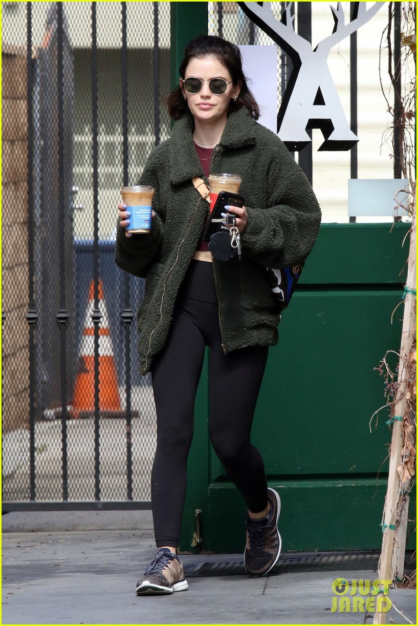 lucy hale gets fresh air during social distancing 04
