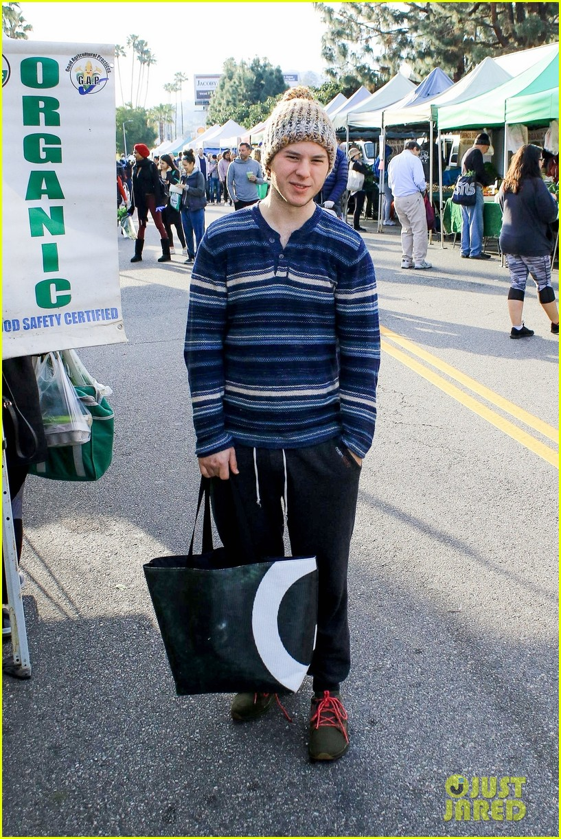 nolan gould stocks up at the farmers market 04