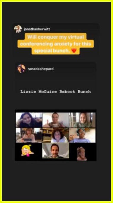 the lizzie mcguire reboot writers just had a video chat 03