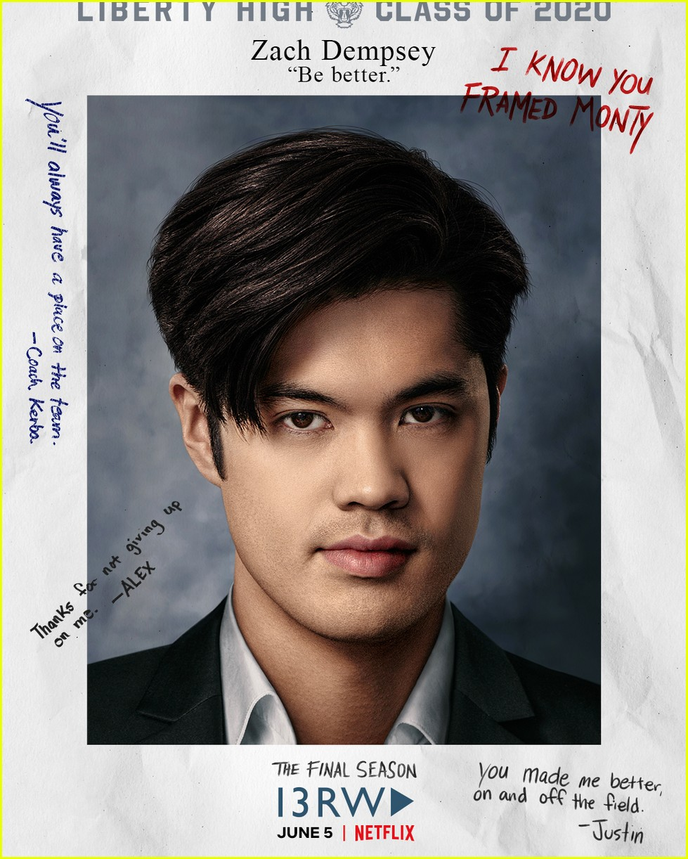 13 reasons why release new yearbook photo cast portraits 01