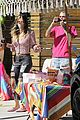 ruby rose bella thorne attend a drive by birthday party 20