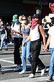 cole sprouse kaia gerber black lives matter protest 52