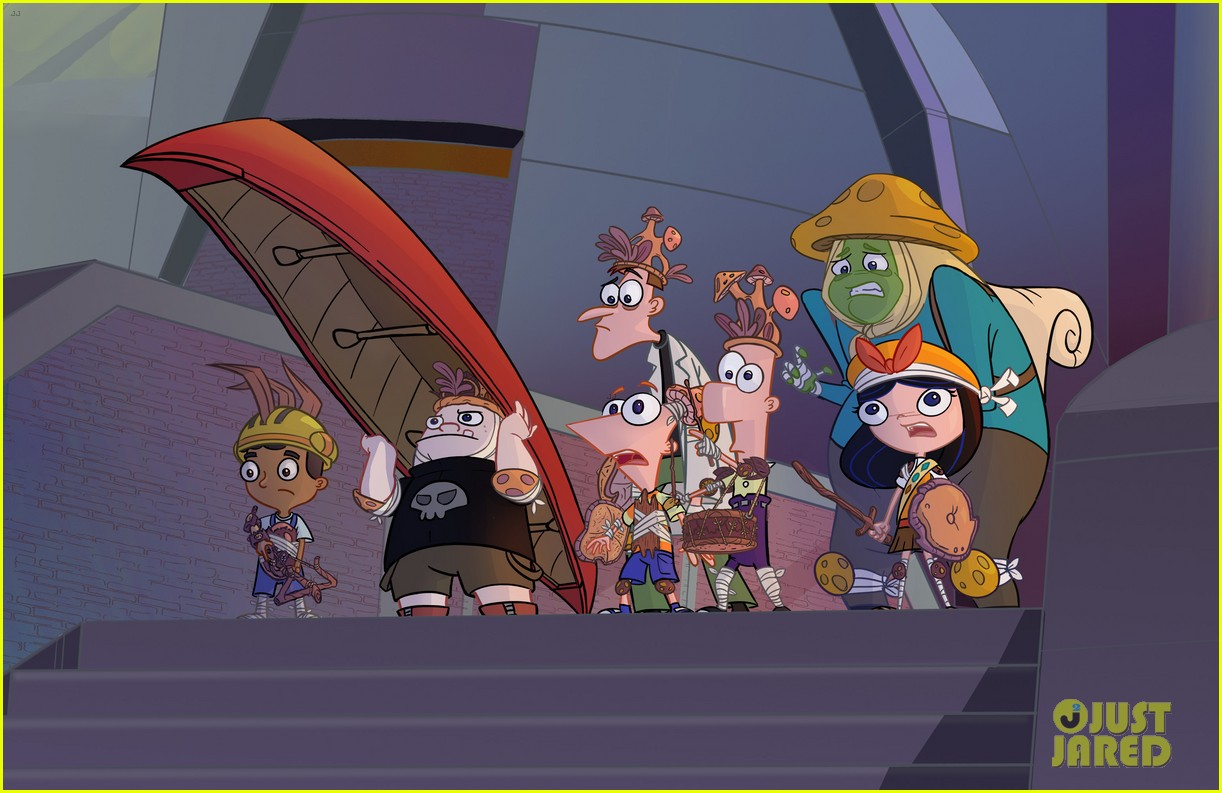 ashley tisdale sings new song for first phineas ferb movie sneak peek 02.
