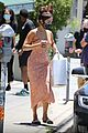 vanessa hudgens picks up food to go cute summer dress 01