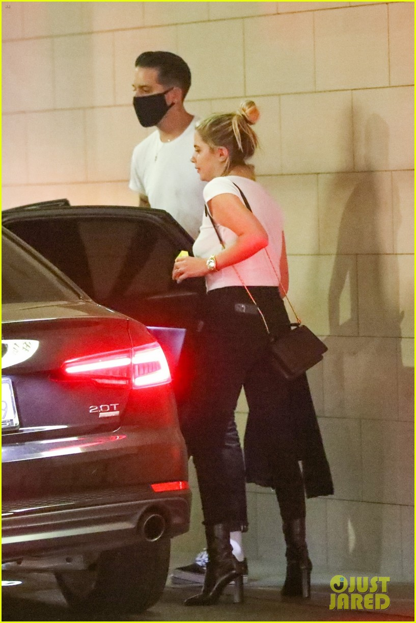 ashley benson wears diamond ring g eazy engagement rumors 09