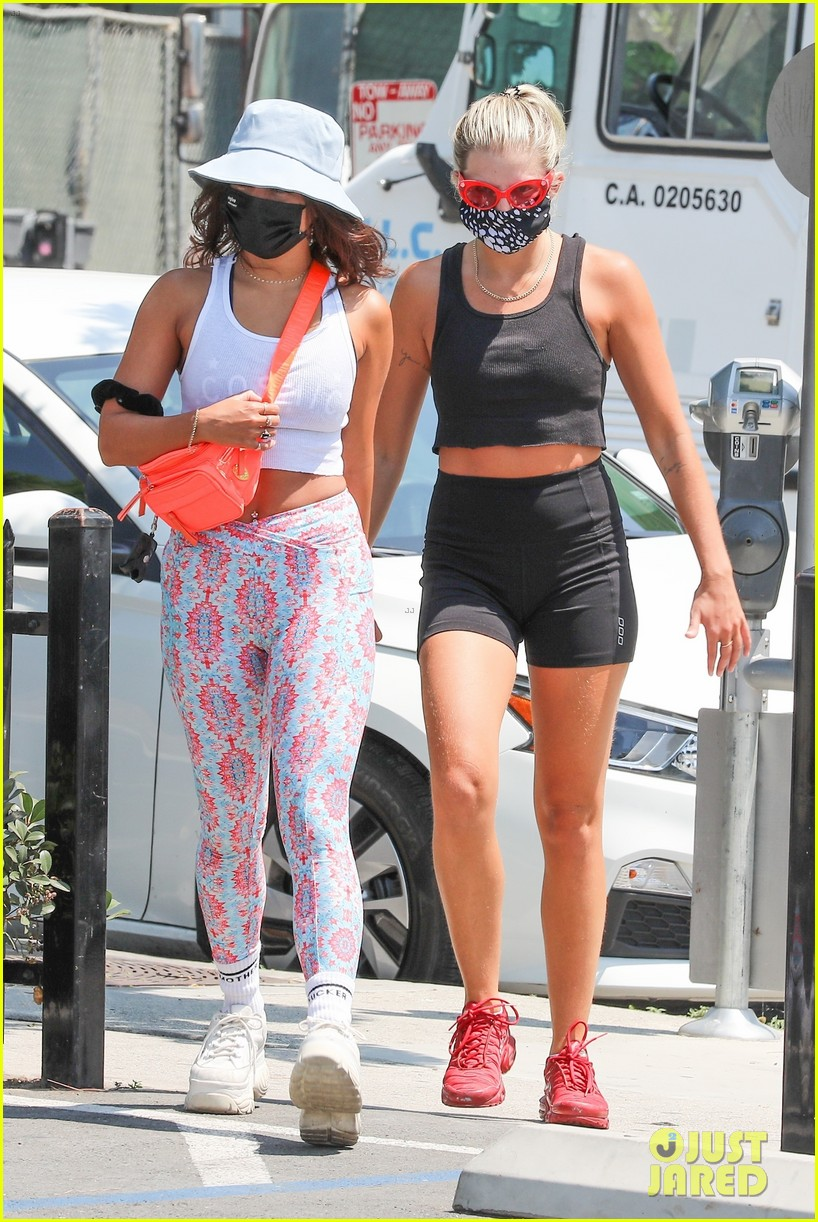vanessa hudgens shows off tight muscles workout 05