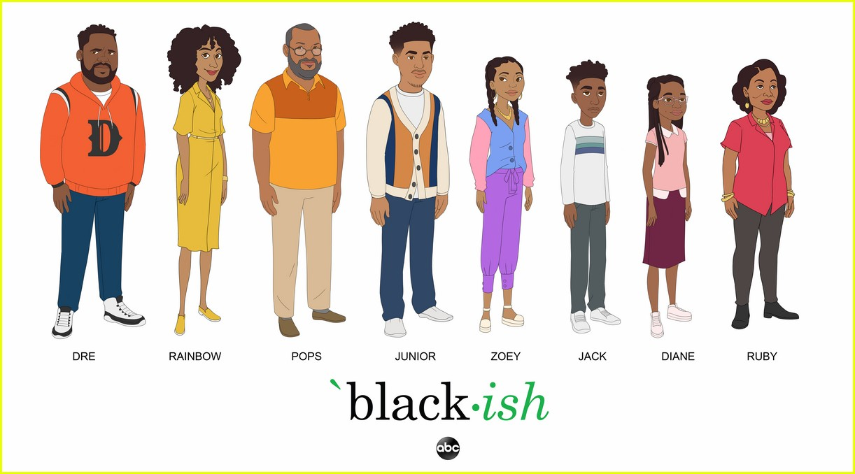 yara shahidi marsai martin more get animated for upcoming blackish episode 03