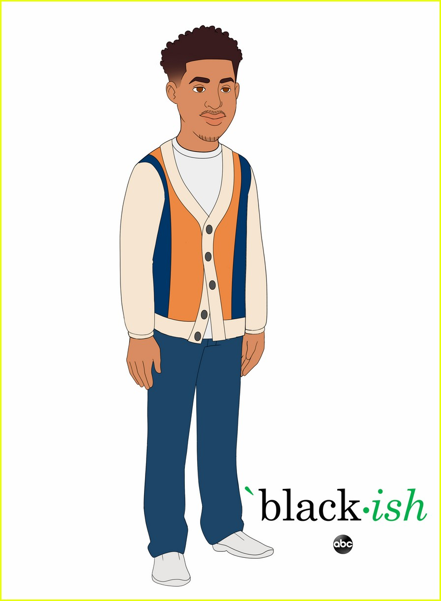 yara shahidi marsai martin more get animated for upcoming blackish episode 04
