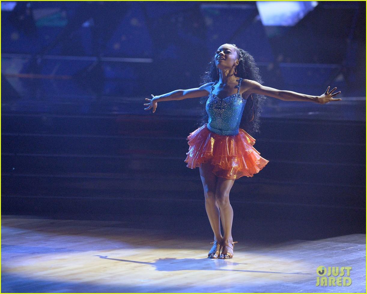 skai jackson alan bersten perform samba for week two dancing with the stars 05