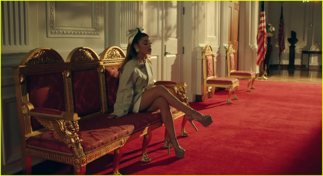 ariana grande positions music video 11