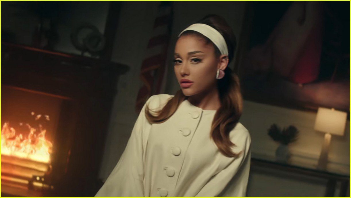 ariana grande positions music video 14