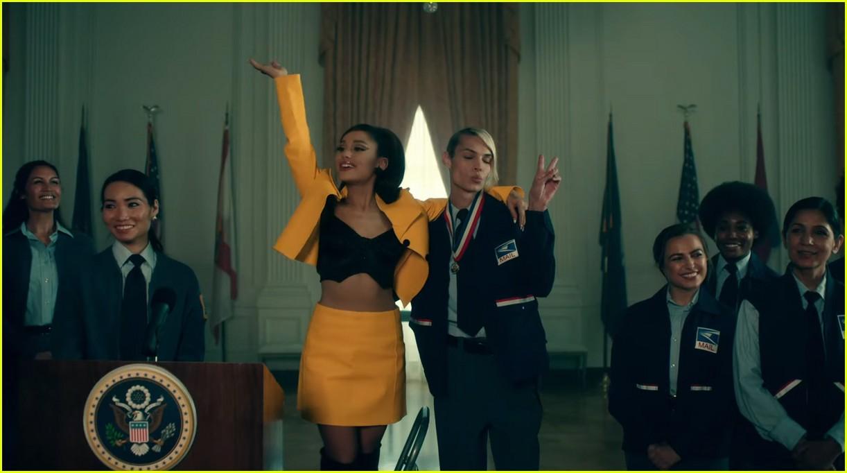 ariana grande positions music video 16