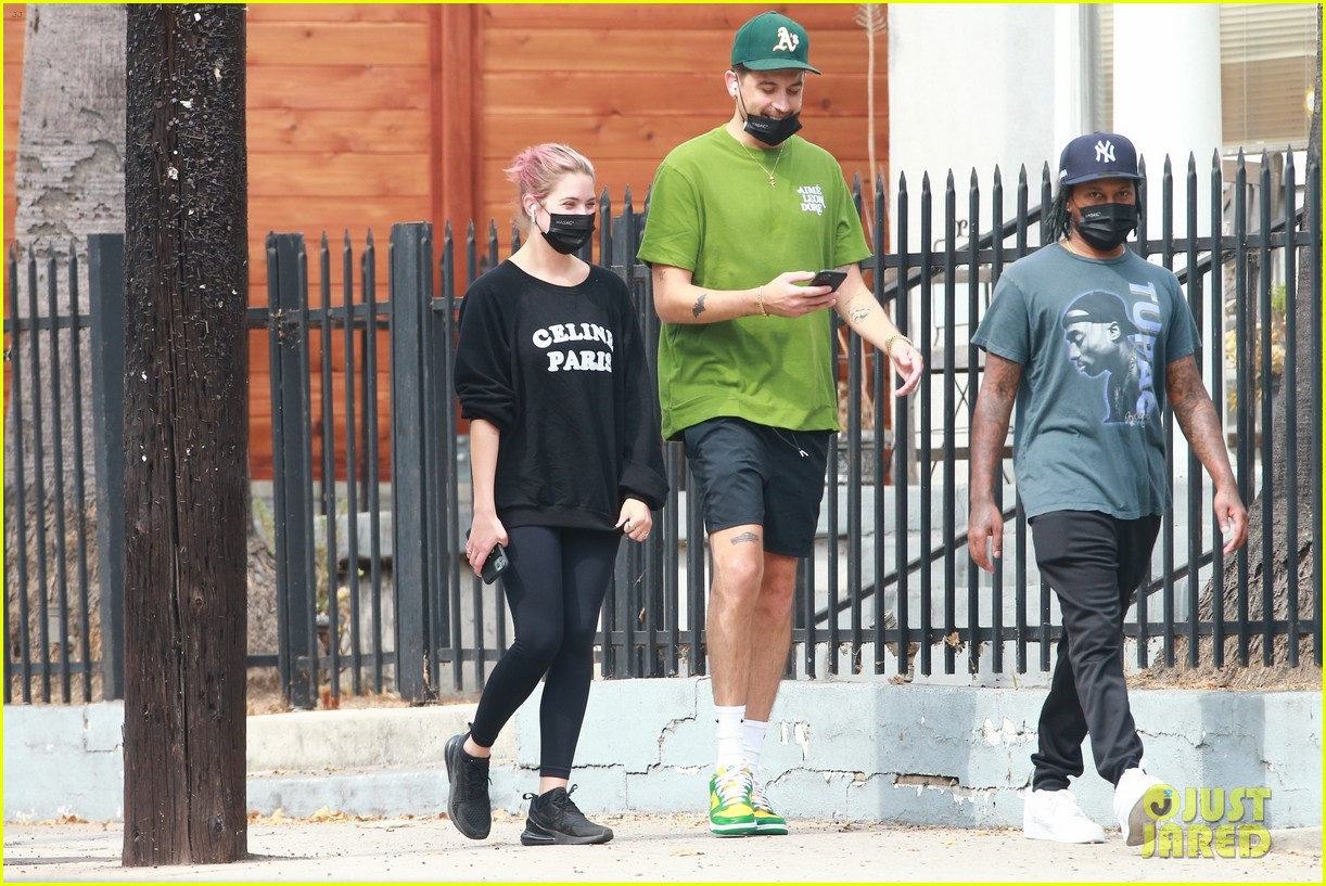 ashley benson g eazy out together 08