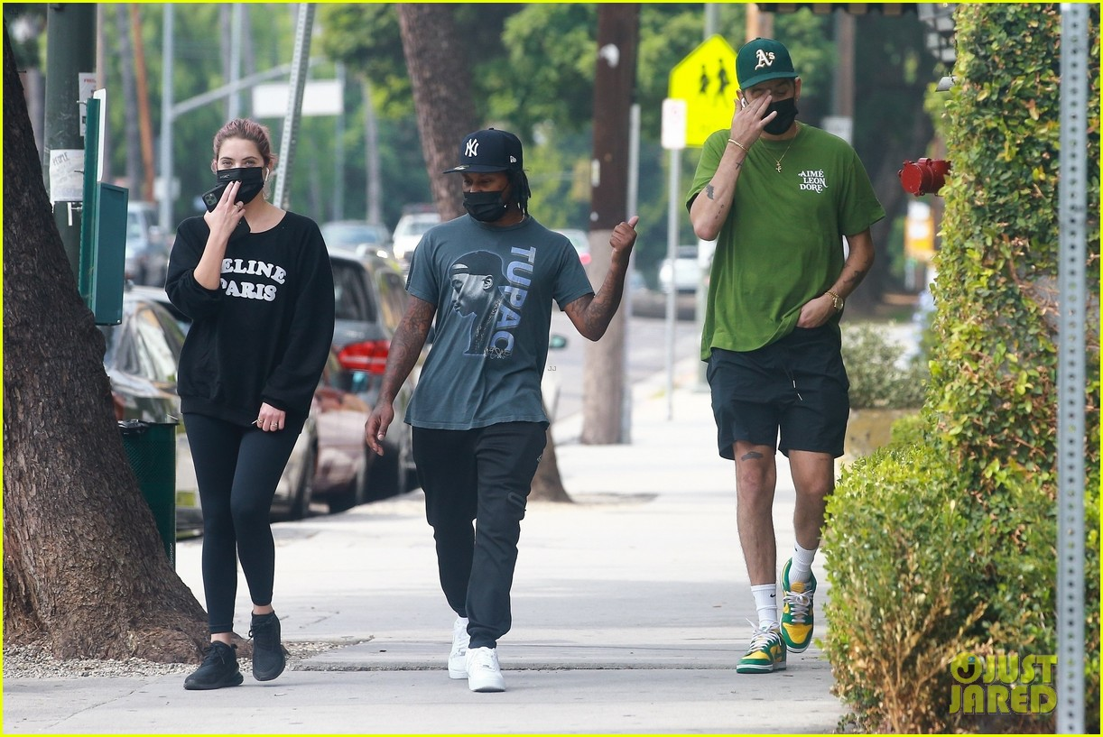 ashley benson g eazy out together 16