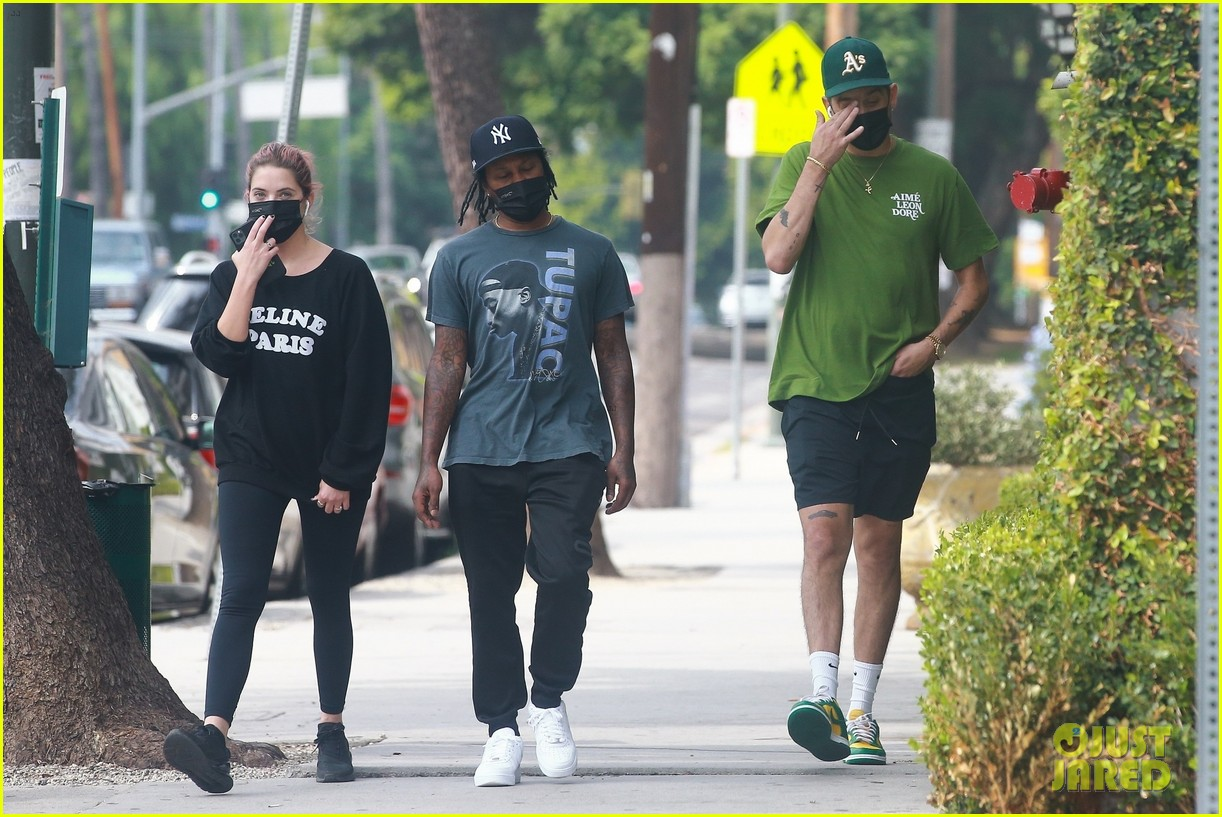 ashley benson g eazy out together 17