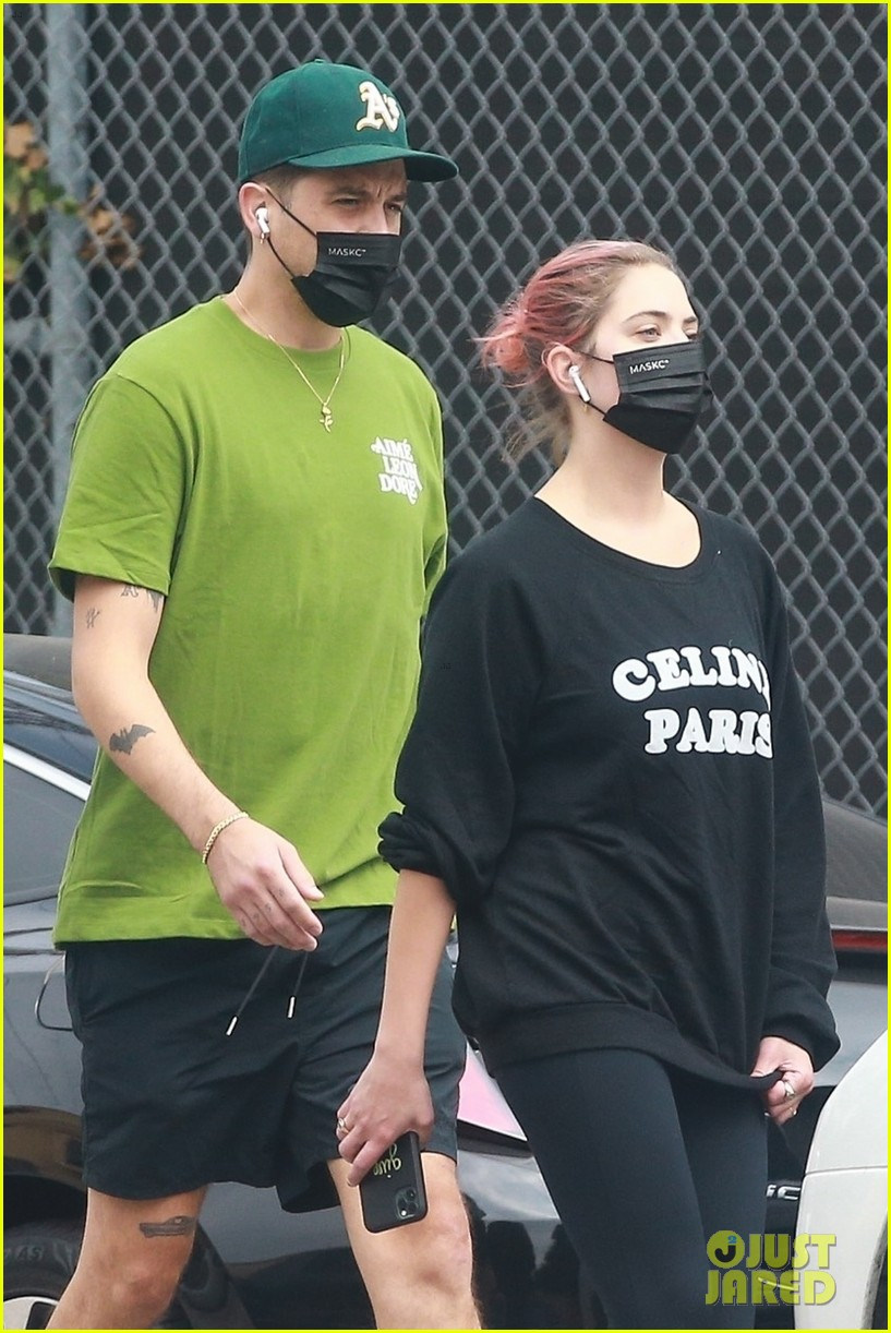 ashley benson g eazy out together 24