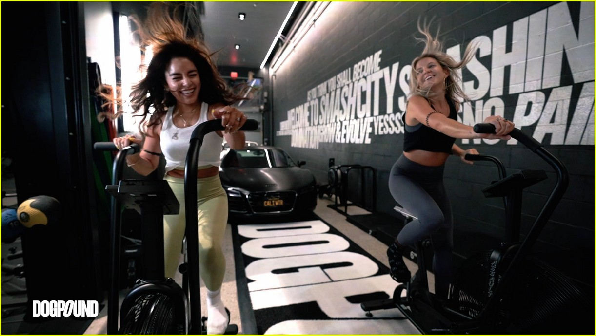 vanessa hudgens gg magree take fans into the dogpound 07