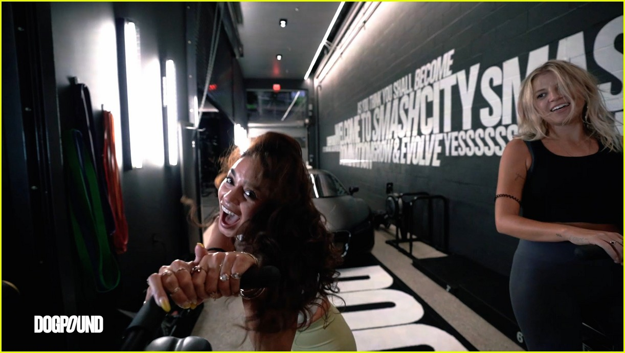 vanessa hudgens gg magree take fans into the dogpound 14
