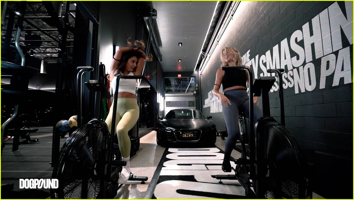 vanessa hudgens gg magree take fans into the dogpound 20