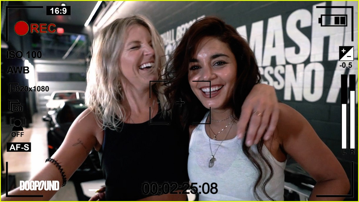 vanessa hudgens gg magree take fans into the dogpound 22