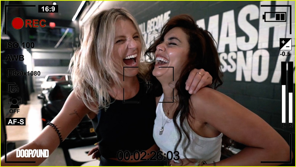 vanessa hudgens gg magree take fans into the dogpound 23