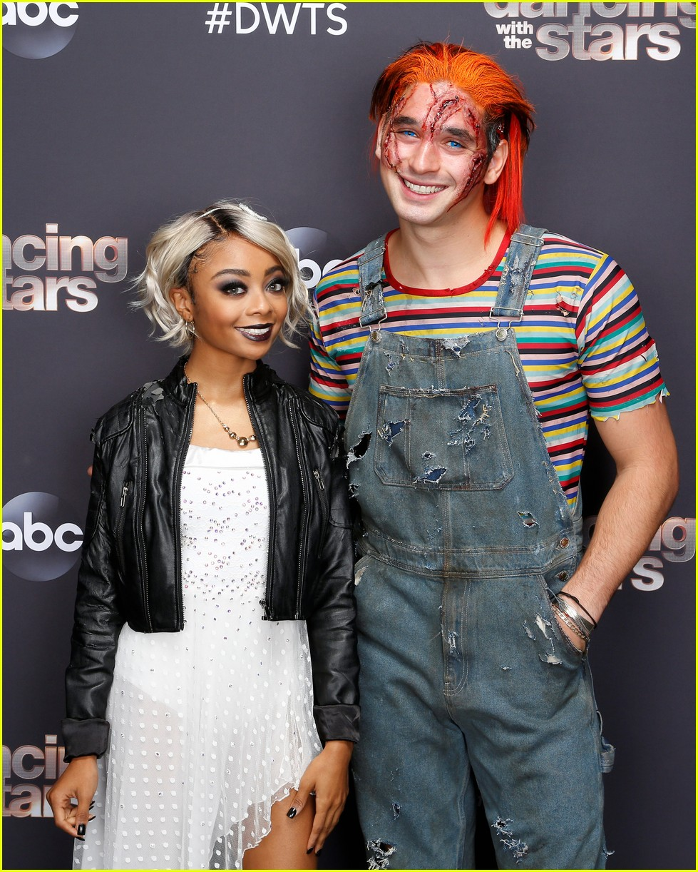 skai jackson is bride of chucky for dancing with the stars 01