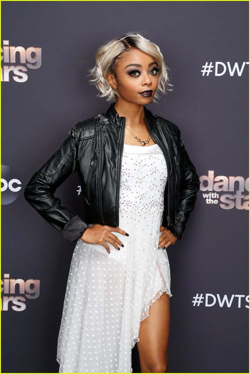 skai jackson is bride of chucky for dancing with the stars 05