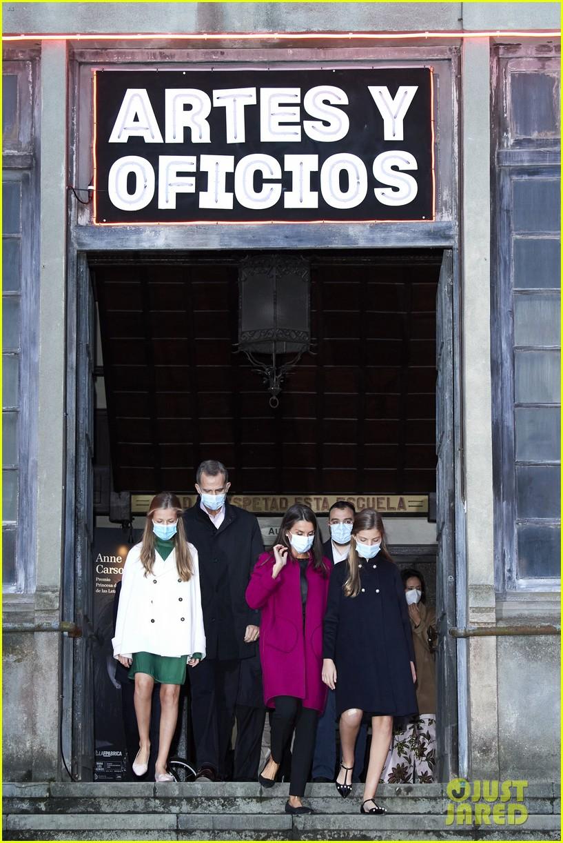 spanish royal family asturias awards appearance pics 04