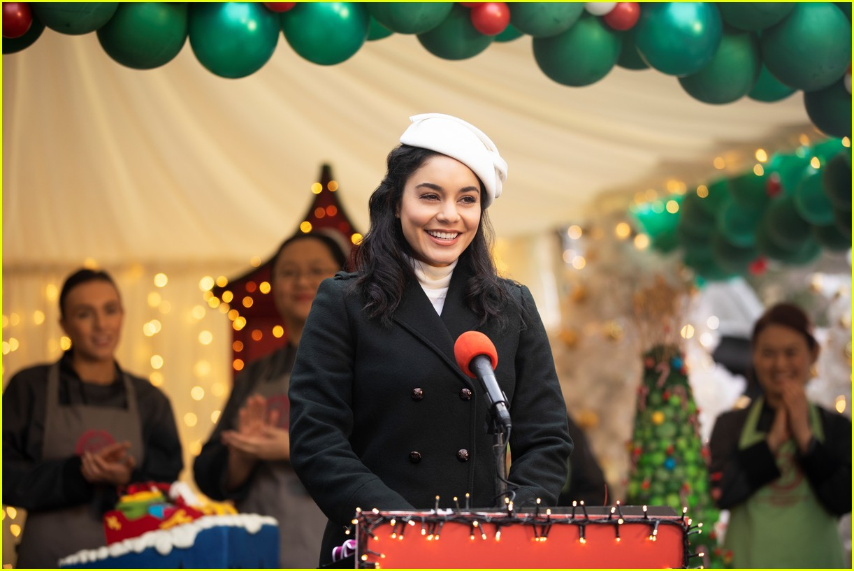 first look photos at vanessa hudgens in the princess switch 2 third movie announced 02