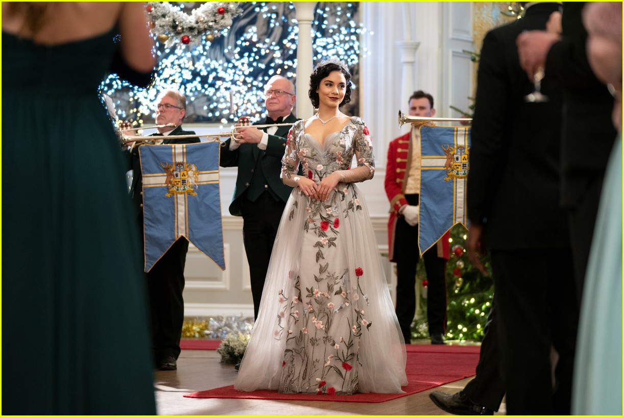 first look photos at vanessa hudgens in the princess switch 2 third movie announced 04