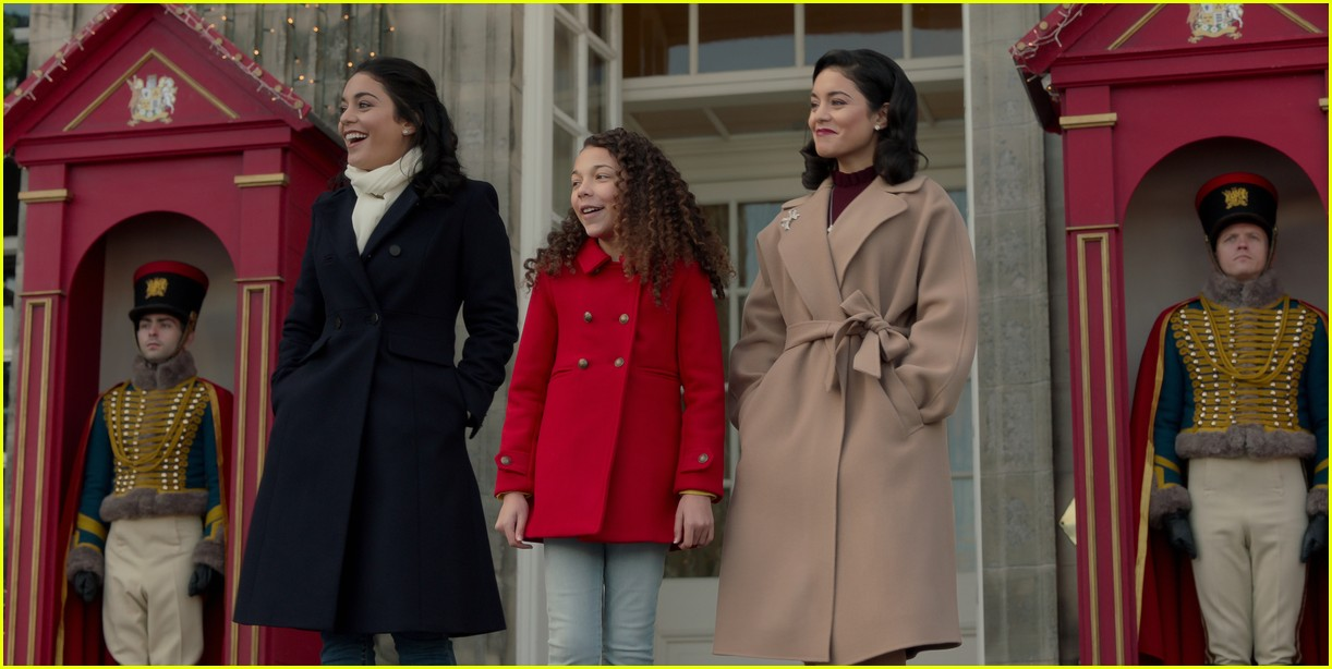 first look photos at vanessa hudgens in the princess switch 2 third movie announced 05