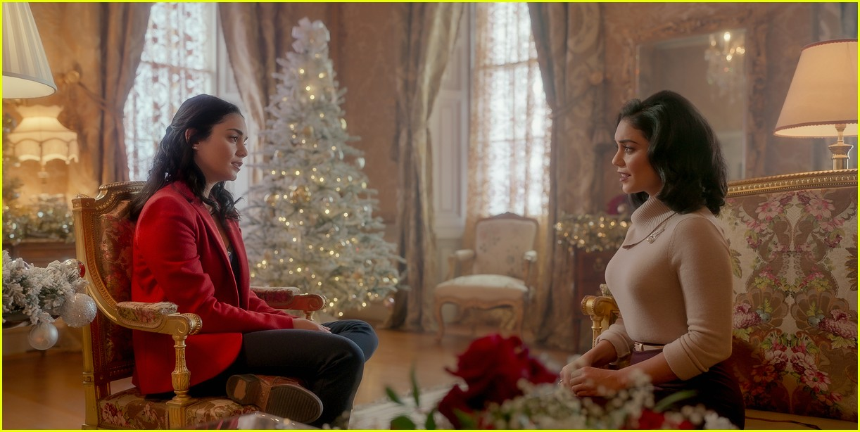 first look photos at vanessa hudgens in the princess switch 2 third movie announced 06