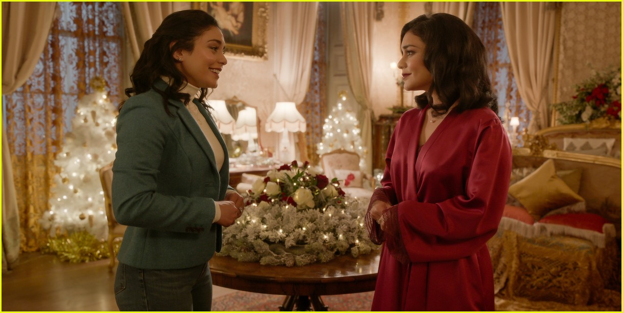 first look photos at vanessa hudgens in the princess switch 2 third movie announced 07