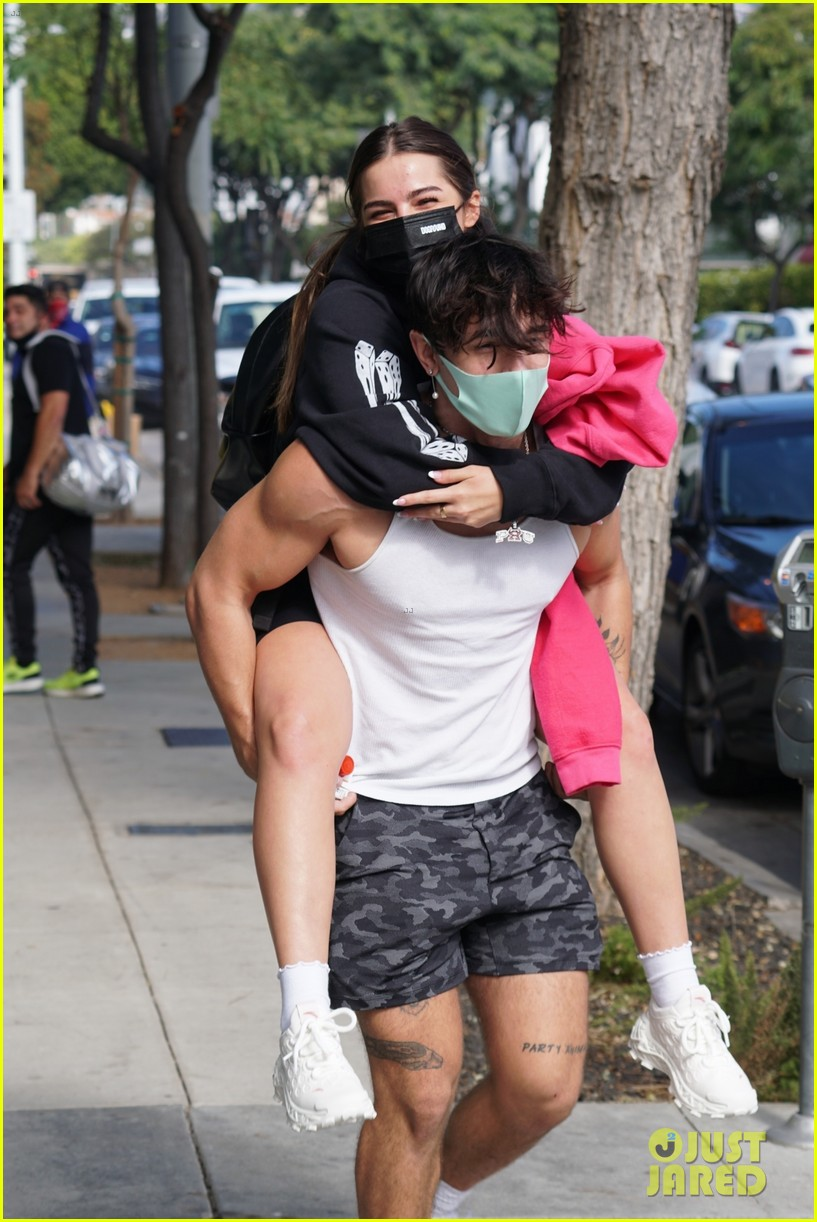 addison rae gets piggyback ride from beau bryce hall 05