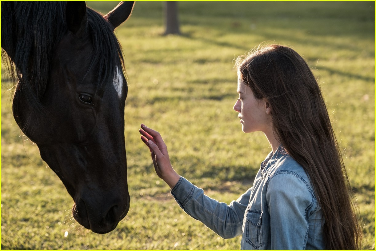 mackenzie foy stars in black beauty trailer for disney plus 06.