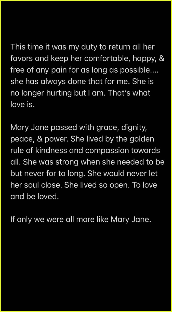 miley cyrus reveals her beloved dog mary jane has passed away 04