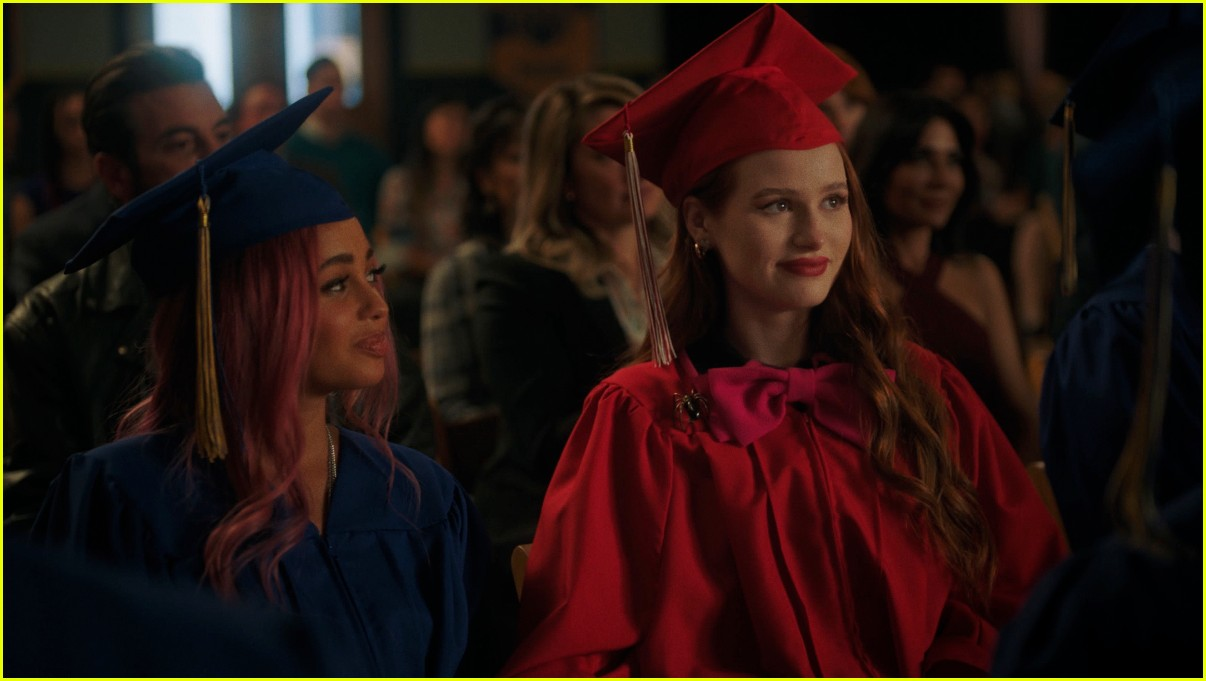 riverdale cast leave high school in graduation first look photos 03