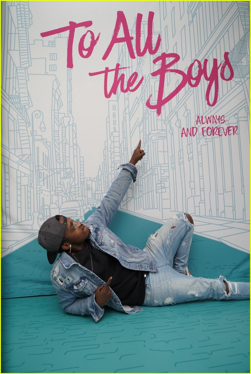 to all the boys always forever virtual premiere 45