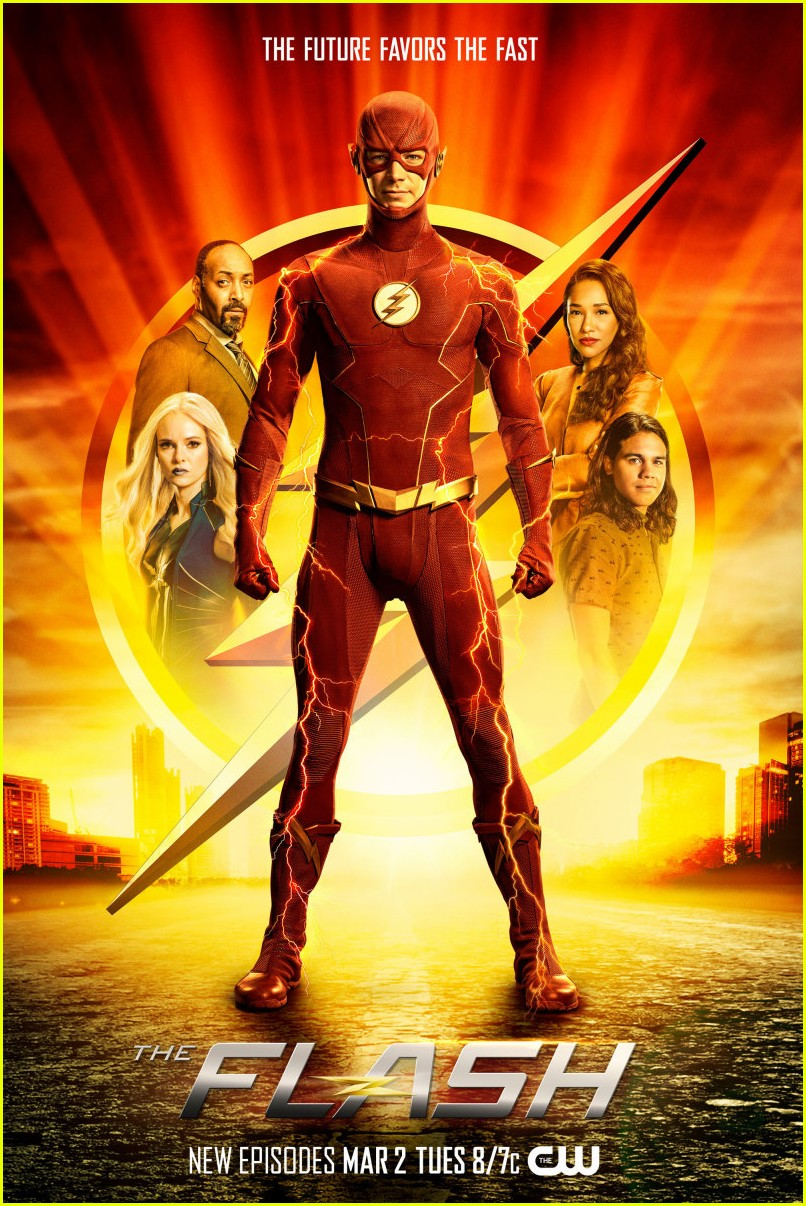 the flash gets new poster ahead of upcoming season 01
