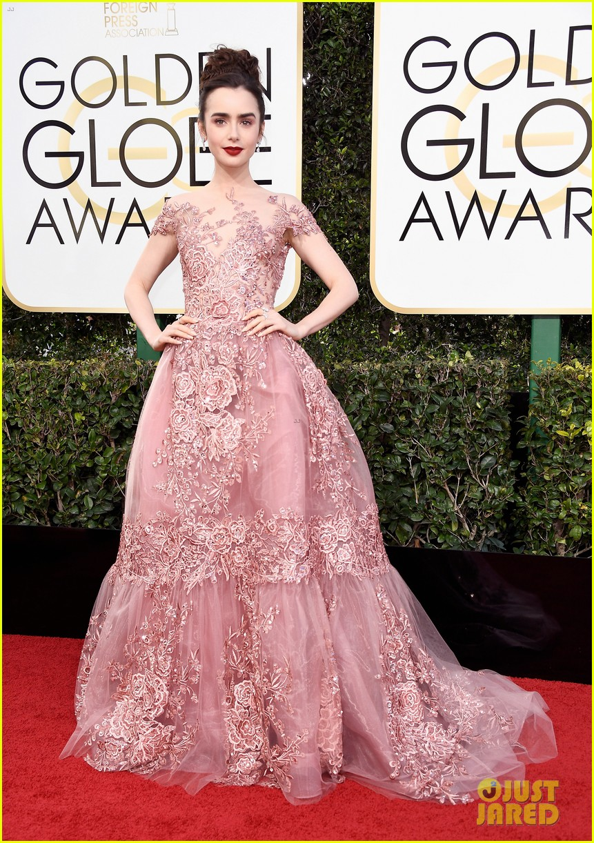 lily collins first golden globes was over 20 years ago 01