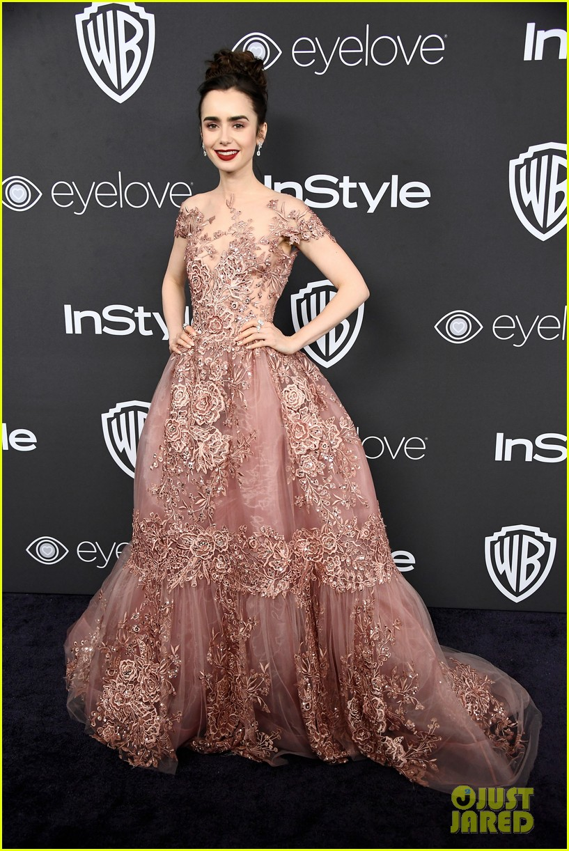 lily collins first golden globes was over 20 years ago 06