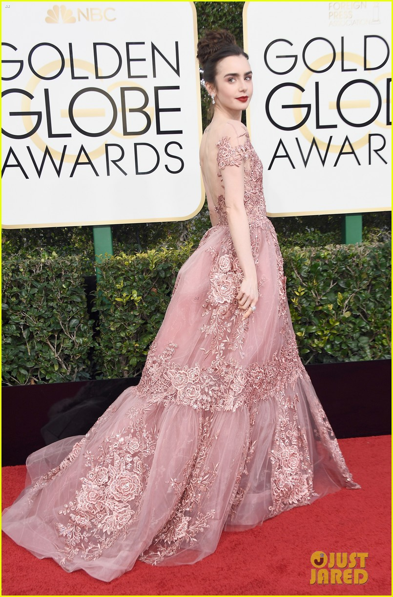 lily collins first golden globes was over 20 years ago 07