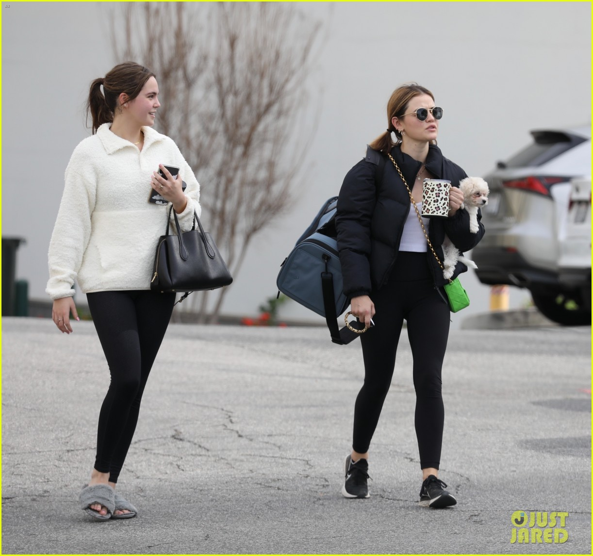 lucy hale bailee madison hit up pilates class together 04