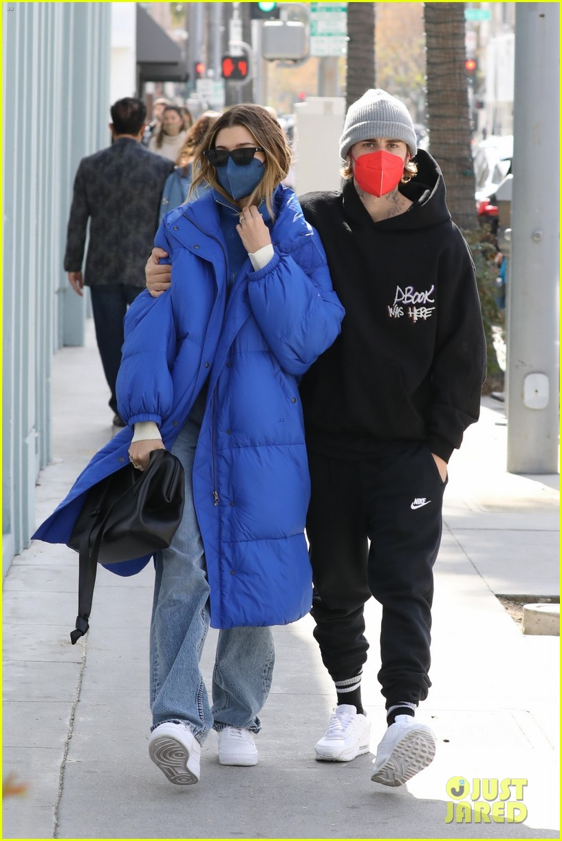 justin hailey bieber lunch ahead of grammys 10